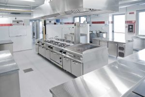 New commercial kitchen install