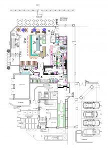 commercial kitchen design blueprint