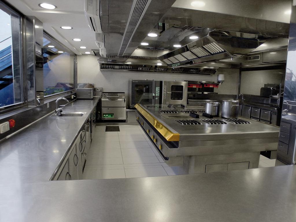 Fabricated kitchen